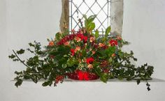 Exotic flowers names and pictures: Christmas flower arrangement ideas for church