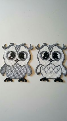 harry potter hama beads Harry Potter owls I stead Perler Bead Designs, Perler Bead Templates, Hama Beads Design, Diy Perler Beads, Pearler Bead Patterns, Perler Bead Art, Perler Patterns, Quilt Patterns, Pearl Crafts