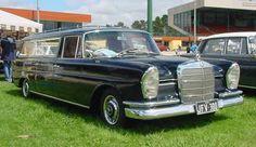 Mercedes Benz W202 Heckflosse Hearse Funeral Car