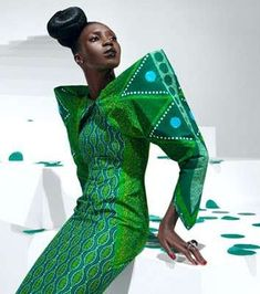 Vibrant African Couture - Vlisco Designer Textiles (GALLERY)