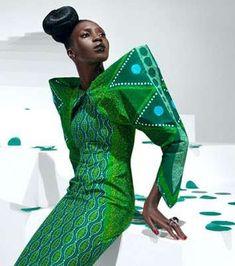 Vibrant African Couture - Vlisco Designer Textiles (GALLERY)