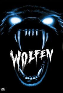 Wolfen, 1981.  I thought I had seen this film but realized I hadn't.  This is a clever change from the regular werewolf films.  A New York cop investigates the murder of a big businessman and his wife, and finds out that there's something living in the rubble of a recently demolished derelict neighborhood that isn't quite human.