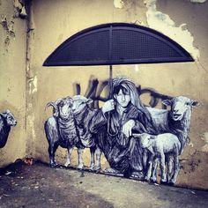 Levalet ''The Shepherd'', Le Berger, Paris - Imgur