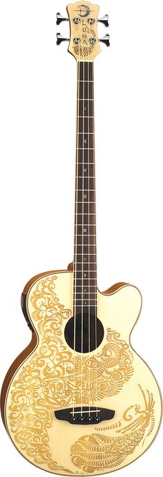 Luna Guitars - Henna Paradise Bass - 1 of 2