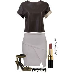 Art Teacher by aataylor936 on Polyvore featuring polyvore, fashion, style, Alexander Wang and Bobbi Brown Cosmetics