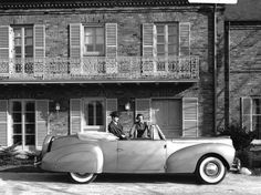1940 Lincoln-Zephyr Continental Cabriolet. (AP Photo/Ford Motor Co.)