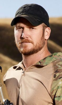 Chris Kyle American Sniper |  Navy SEAL Early Years I can't even watch trailers for the movie without tears.  May his family always feel the love from us that he gave this nation.