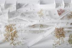 Learning center for Polytechnique school in Paris-Saclay / Sou Fujimoto Architects, Manal Rachdi OXO Architectes , Nicolas Laisné Associés - 谷德设计网