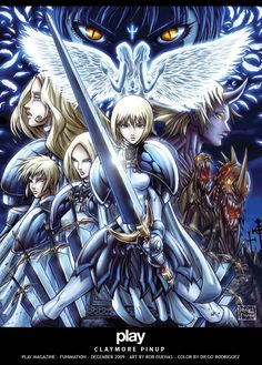 Claymore by RobDuenas.deviantart.com on @deviantART
