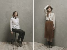 Pomandère autumn winter 2013-14 lookbook.