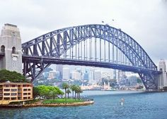 Even though it's was cloudy all weekend Sydney you were great! #sydney #sydneyharbourbridge #coathanger #australia #homesweethome by miss_argento http://ift.tt/1NRMbNv