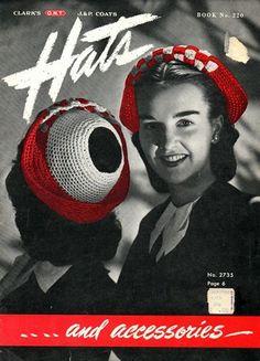 Clark's Coats Book No. 220 Hats & Accessories1945
