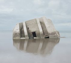 Noémie Goudal is a visual artist working with photography, film and installation. Concrete Architecture, Modern Architecture, Ancient Architecture, Bunker, Land Art, The Doors Of Perception, Paris Photos, Brutalist, Artist At Work
