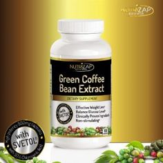 Amazon.com: 100% Pure Green Coffee Bean Extract Capsules By Nutrizap : Contains Svetol® & 50% Chlorogenic Acid for Effective Natural Weight Loss : 800mg/Serving : Made in USA : Verified by Independent Lab: Health & Personal Care