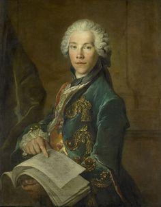 Portrait of Arnoldus van Rijneveld, Louis Tocqué, ca. 1738 | Rijksmuseum