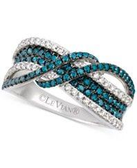 Le Vian Exotics® Diamond Ring (9/10 ct. t.w.) in 14k White Gold