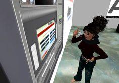 Step 3,locate ATM (Tick)