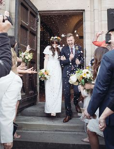 Charming UK Warehouse Wedding: Laura + Karl