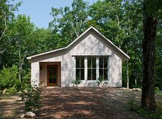 :: Havens South Designs :: loves this collection of prefab houses from GoLogic. The windows in this cottage are stunning.