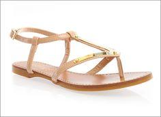 Mirrored flat #Sandals