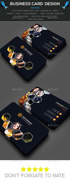 Photography Business Card by MasumParvej features * fully layered * Main file-PSD * Easy edit able * Print ready * Size inc Card [with inc bleed] * CMYK Mode * Fo Business Cards Layout, Professional Business Card Design, Modern Business Cards, Business Design, Creative Business, Corporate Design, Id Card Template, Card Templates, Graphic Design Brochure