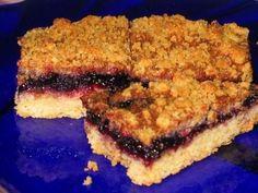 Тертый пирог с замороженными ягодами