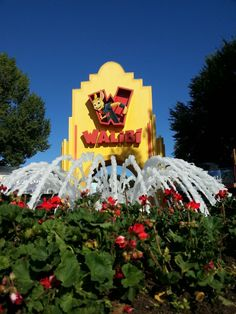 Walibi Holland in Biddinghuizen, Flevoland