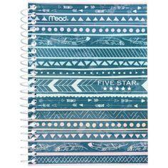 Five Star 7x5 Fashion Notebook 1 Subject