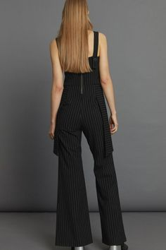 Relay Jumpsuit - Black Pinstripe Minimal Beauty, Aw17, Black Jumpsuit, Winter White, Luxury Fashion, Dressing, The Incredibles, Collection