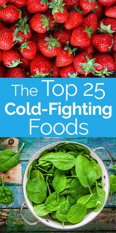 "The Top 25 Cold-Fighting Foods.   As the ancient Greek physician Hippocrates once said, ""Let food be thy medicine and medicine be thy food."" HealthGrove took that to heart and found the top cold-fighting foods."