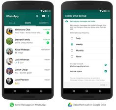 From now on WhatsApp for Android lets you create a private backup of your chat history, voice messages, videos, and images in Google Drive.