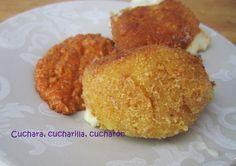 Cuchara, cucharilla, cucharón: Croquetas de queso manchego