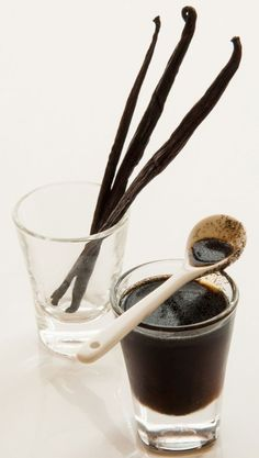 How to Make Homemade Vanilla Extract - Food and Recipes - Mother Earth Living Homemade Vanilla Extract, Vanilla Paste, Spice Blends, How To Make Homemade, Diy Food, Cooking Tips, Whole Food Recipes, Favorite Recipes, Lino Prints