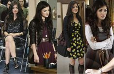 Consigue el look de Aria Montgomery en Pretty Little Liars.  #GetTheLook #Vivalochic #Fashion #Dress