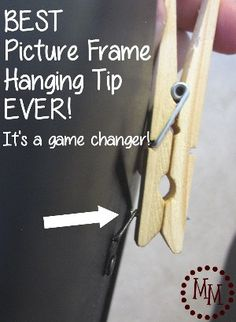 This little tip may just change your life! Okay, maybe I'm being a little overdramatic. Maybe… But you WILL love this picture frame hanging tip! Where I learned this tip: While on maternity leave (which is sadly coming to an end soon), I had HGTV on in the background nearly every day. On one of [...]