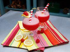 Frozen Raspberry and Vodka Lemonade recipe from Geoffrey Zakarian via Food Network