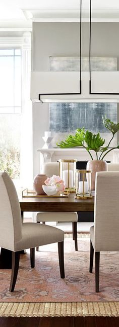 Shades of Blush and Neutral