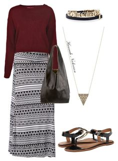 """""""Stylishly Comfortable"""" by bannah23 ❤ liked on Polyvore featuring moda, House of Harlow 1960, AERIN, Boohoo e CÉLINE"""