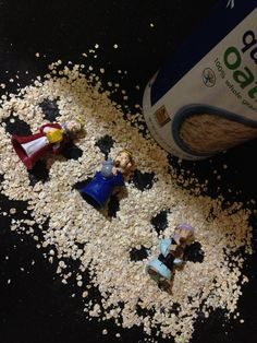 Oatmeal Angels... The Traveling Wise Men tradition. Wise Men travel to Jesus. www.travelingwisemen.com