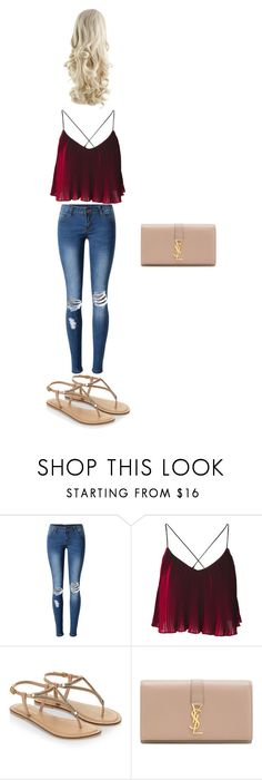 """Untitled #28"" by beutykat132 on Polyvore featuring WithChic, Accessorize and Yves Saint Laurent"
