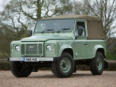 The Land Rover Company launched many vehicles in different segments but the Defender gained a lot of popularity in the SUV category. It was launched in 1983 and its production till 2016 as a four wheel drive utility.  #Car #LandRover