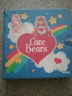 Vintage Care Bears Carrying Case 1980s Toy Kids by MyYiayiaHadThat,