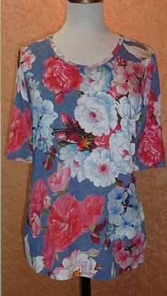Basler floral top from the Basler Popup designer clothing range