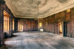 Urban Exploration, Abandoned, Forgotten, Rust, Decaying, Abandoned Places, Abandoned House, Abandoned Building Wood Boarding Room by kleiner hobbit, via Flickr