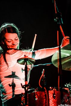 Meg White, baterista de The White Stripes by Dena Flows on 500px