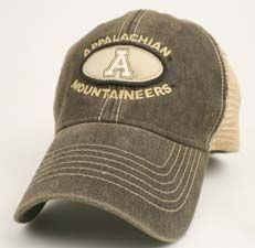 04c749056978c Appalachian State Mountaineers Legacy Old Favorite Trucker Hat App State