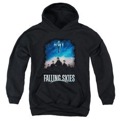 Falling Skies - Main Players Youth Pull-Over Hoodie