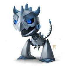 DAY 456. Robot Monster by Cryptid-Creations.deviantart.com on @deviantART