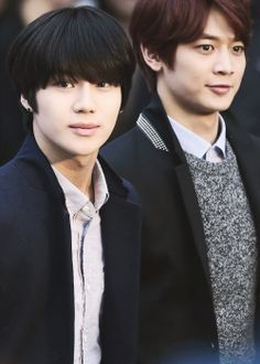SHINee 2Min Taemin and Minho. I love Taemin's hair like this