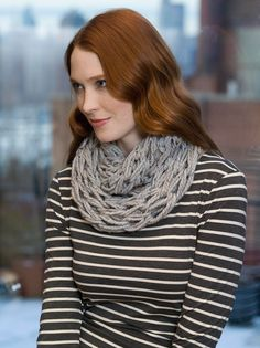 Quick Arm Knit Cowl Pattern
